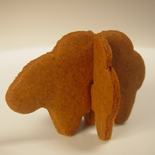 Sheep-shaped Cookies